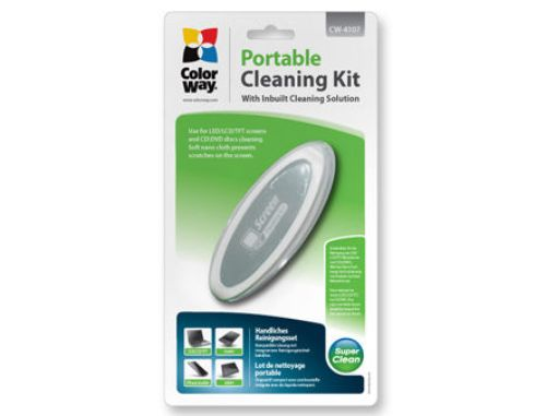 Color Way CW-4107 Compact  Portable Cleaning Kit