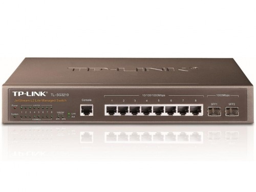 ".8-port 10-100-1000Mbps Switch  TP-LINK ""TL-SG3210"