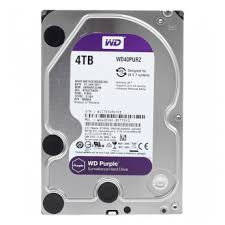 "3.5"" HDD  4.0TB-SATA- 64MB Western Digital ""Purple"