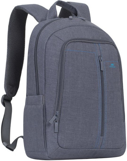 "16""-15"" NB backpack - RivaCase 7560 Canvas Black L"