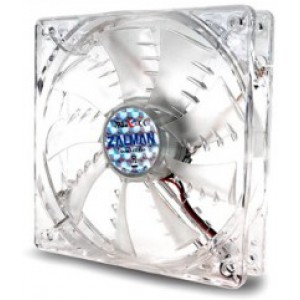 "92mm Case Fan - ZALMAN ""ZM-F2 LED(SF)"" Case Fan wi"