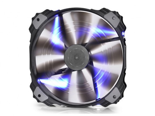 "200mm Case Fan - DEEPCOOL ""XFAN 200"" Fan with Red"