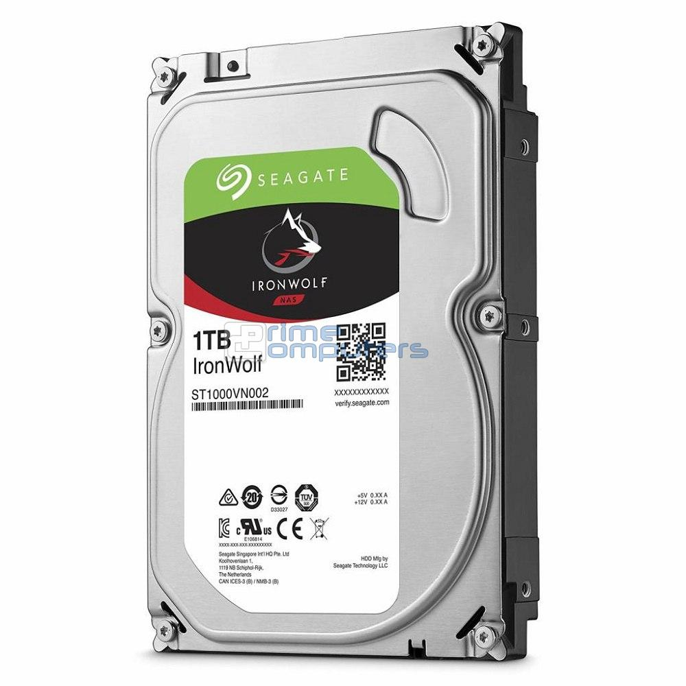 "3.5"" HDD 1.0TB  Seagate ST1000VN002  IronWolf NAS"