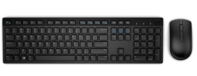 Dell KM636 Russian (QWERTY)  Wireless Keyboard and