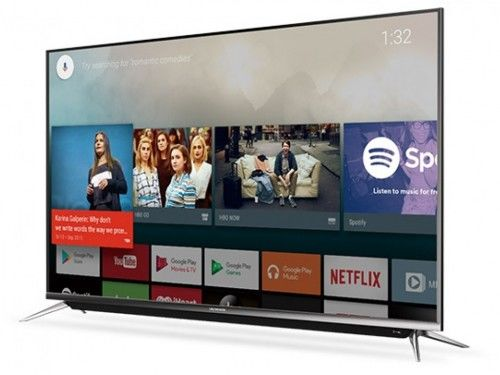 "Телевизор 58"" LED TV SKYWORTH 58G2, Silver, 3840x2160 (4K),"