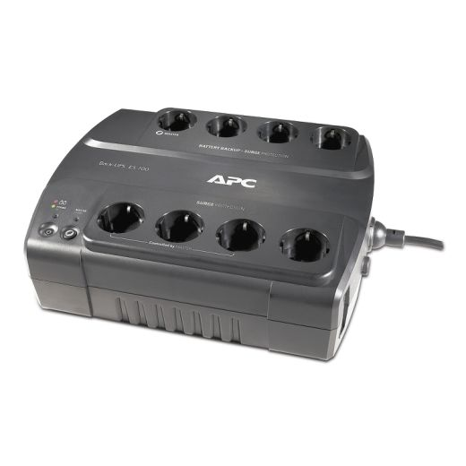APC Back-UPS BE700G-RS, 700VA-405W, 8 x CEE 7-7 Sc