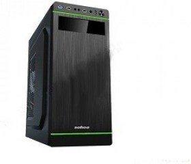 Case ATX 500W Sohoo 5916BR, 2xUSB2.0, Black-Red, A