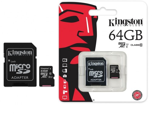 32GB microSD Class10 A1 UHS-I + SD adapter