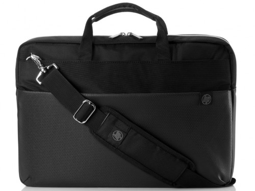 "HP 15.6"" Pavilion Accent Black-Silver Briefcase"
