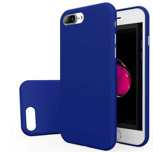 Plastic Case for Iphone 8 Blue