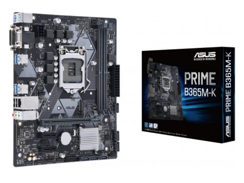ASUS PRIME B365M-K, Socket 1151, Intel B365 (9th-8th Gen CPU), Dual 2