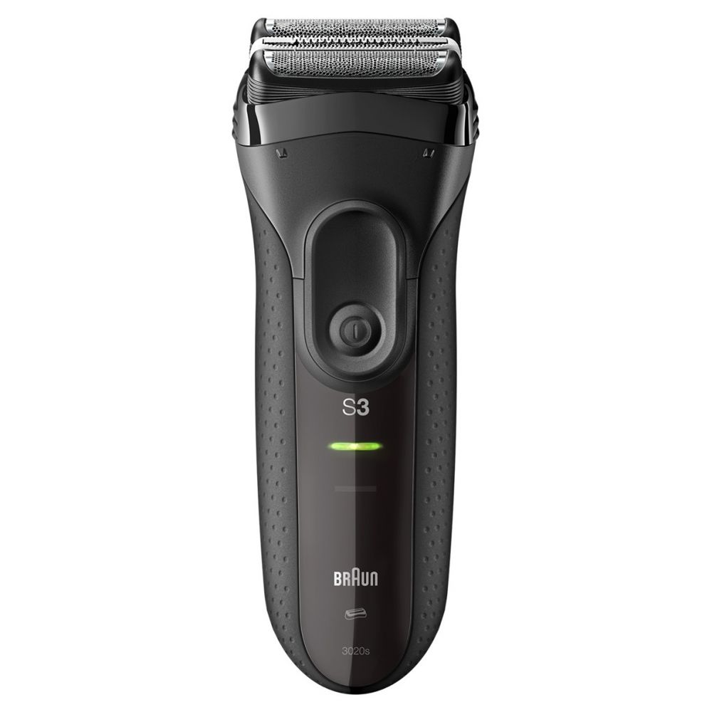 Shaver Braun 3020S Black , foil shaver, rechargeable battery operation