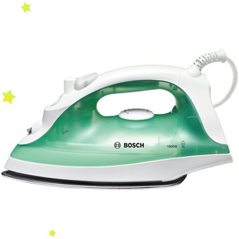 Iron Bosch TDA2315 , 1800W, InoxGlissee, steam 20-40g, anti-drip and a
