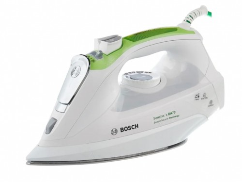 Iron Bosch TDA702421E 2400W,  Palladium ceramic, steam 45-200g, anti-d