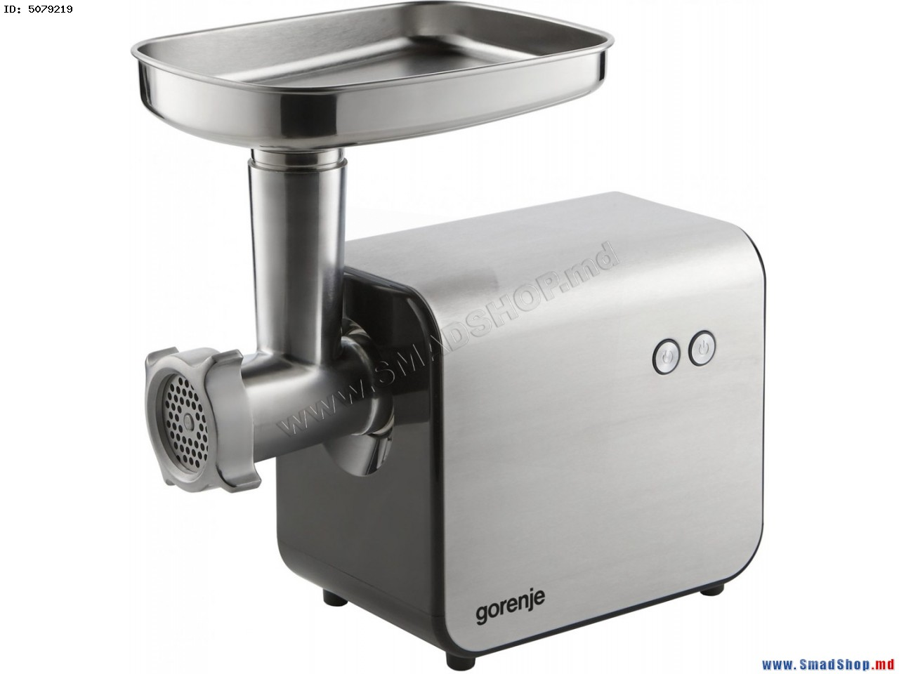 Meat mincer GORENJE MG2000XE , 2000W power output,2 perforated discs 4