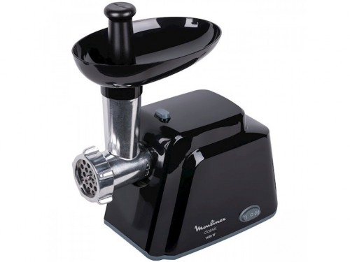 Meat mincer MOULINEX ME105830 , 1400W power output,2 perforated discs