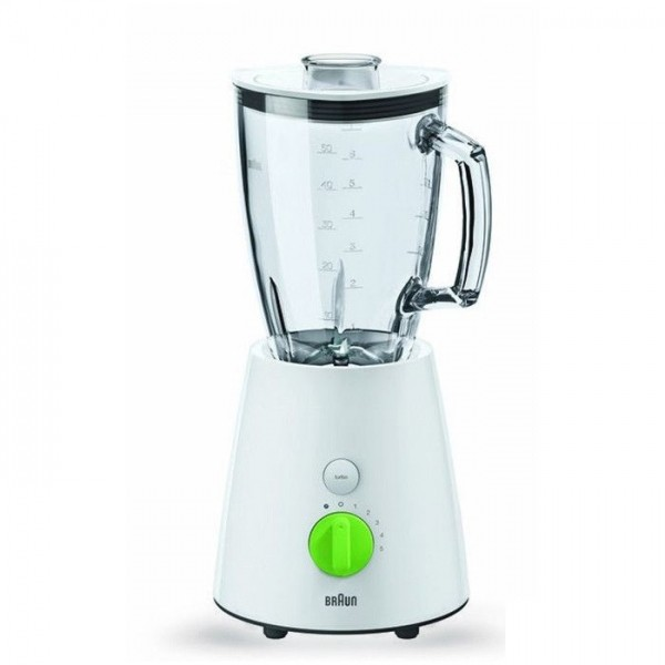 Blender Braun JB3060 White , 800W power output, mixing bowl 1,75l,  gl