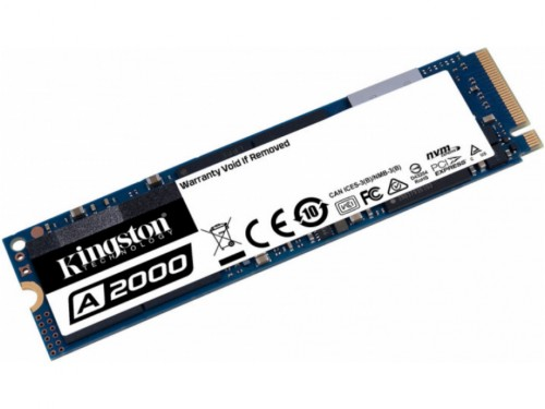 .M.2 NVMe SSD   500GB Kingston A2000 [PCIe 3.0 x4, R-W:2200-2000MB-s,