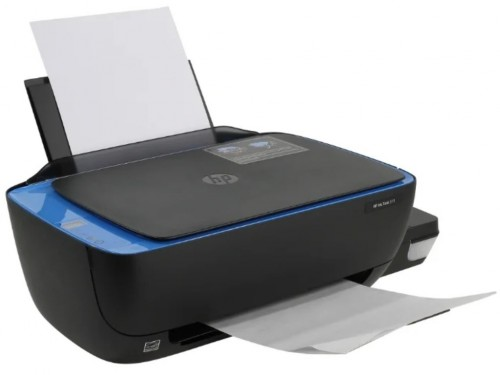 All-in-One Printer HP Ink Tank 319 + СНПЧ, Black-Blue, A4, up to 19ppm