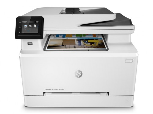All-in-One Printer HP Color LaserJet Pro MFP M281fdw, White,  A4, Fax,