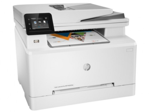 All-in-One Printer HP Color LaserJet Pro MFP M283fdw, White,  A4, Fax,