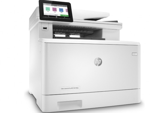 All-in-One Printer HP Color LaserJet MFP M479fdn, White, A4, Fax, 27pp