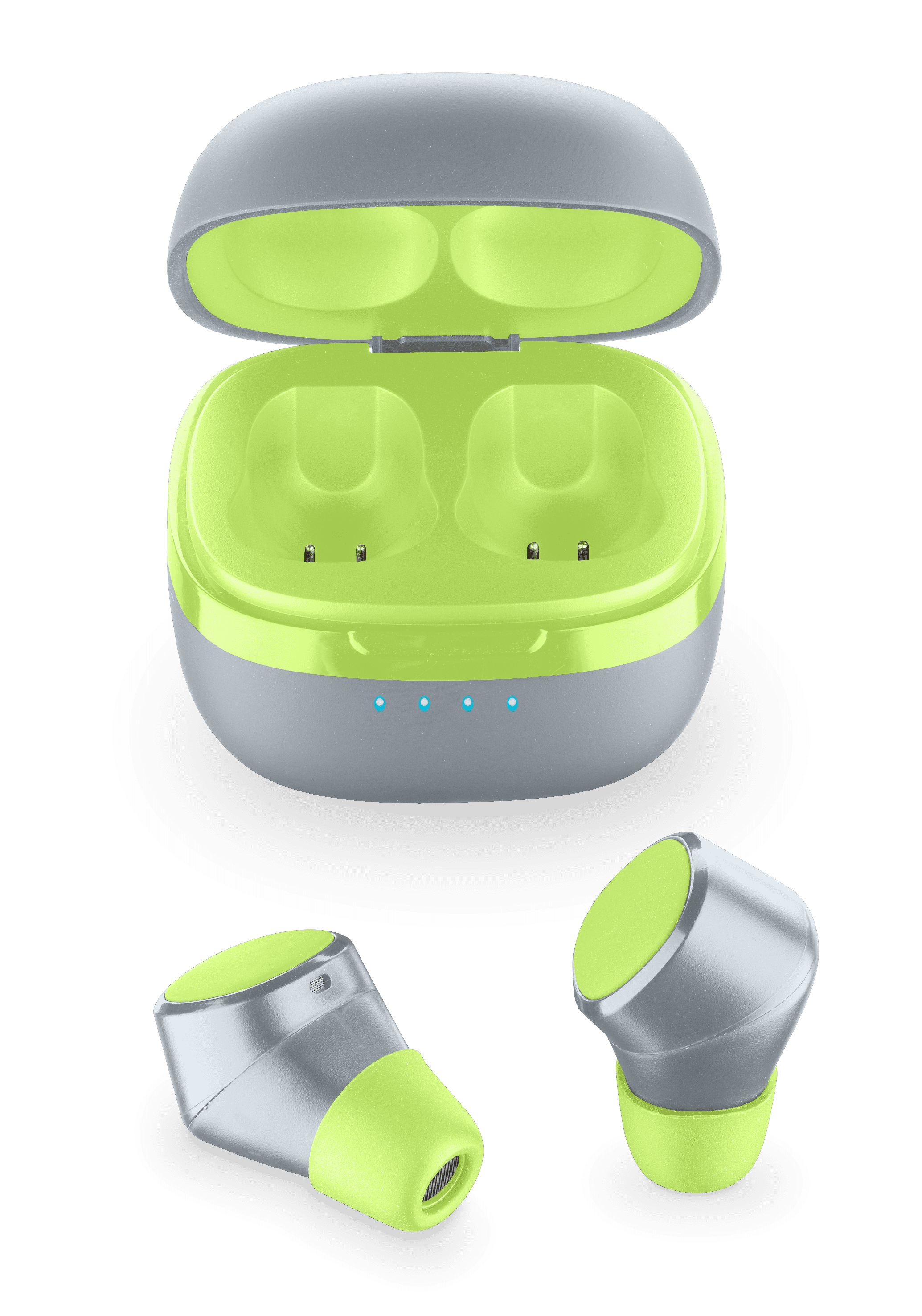 Bluetooth earphone Cellular EVADE Lime