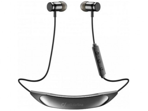 Bluetooth earphone stereo, Cellular COLLAR Black