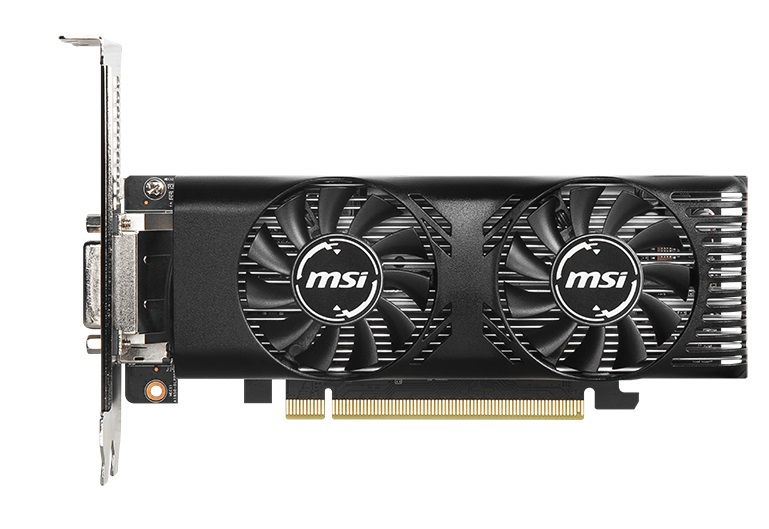 MSI GeForce GTX 1650  4GT LP OC -  4GB GDDR5 128Bit 1695-8000Mhz, DVI-