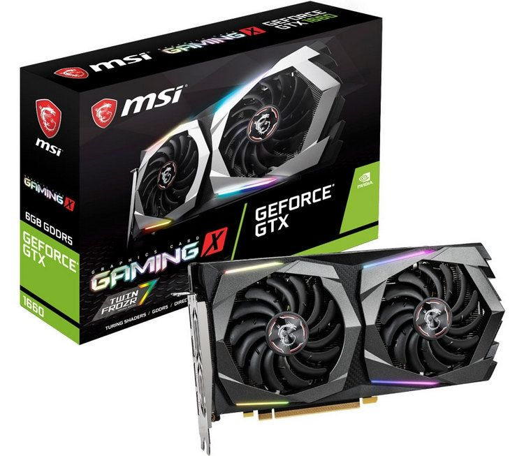 MSI GeForce GTX 1650 GAMING X 4G  -  4GB GDDR5 128Bit 1860-8000Mhz, HD