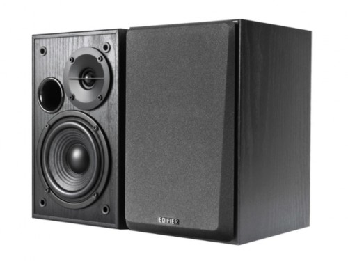 Edifier R1100  Black, 2.0- 42W (2x21W) RMS,  Audio in: two analog (RCA
