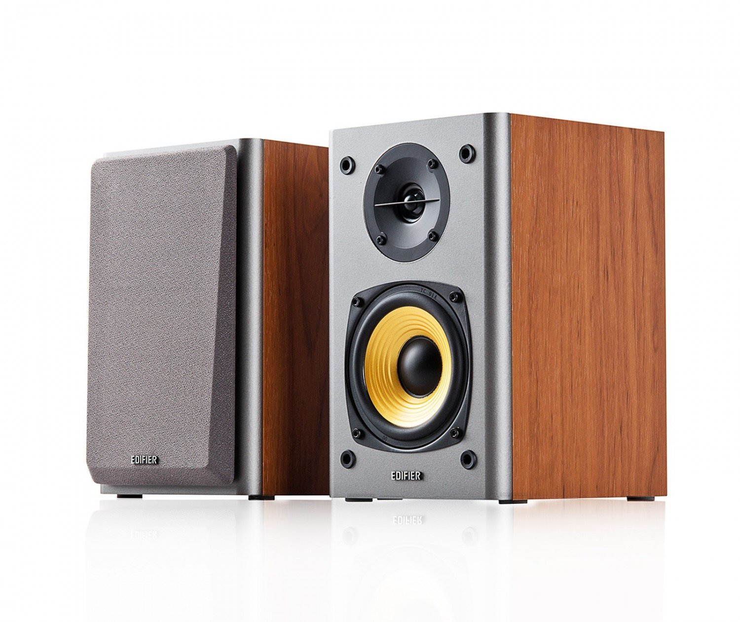 Edifier R1000T4 Brown, 2.0- 24W (2x12W) RMS,  Audio in: 2x RCA, wooden