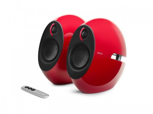 Edifier E25HD Red, 2.0- 74W (2x37W) RMS, Audio in: Bluetooth 4.0, auxi