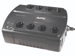 APC Back-UPS BE700G-SP, 700VA-405W, 8 x CEE 7-7 Schuko (4 Battery Back