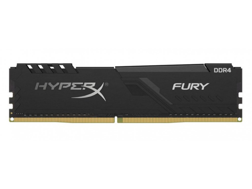 .4GB DDR4-2666MHz  Kingston HyperX FURY (HX426C16FB3-4), CL16-18-18, 1