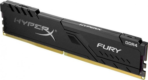 .4GB DDR4-3000MHz  Kingston HyperX FURY (HX430C15FB3-4), CL15-17-17, 1
