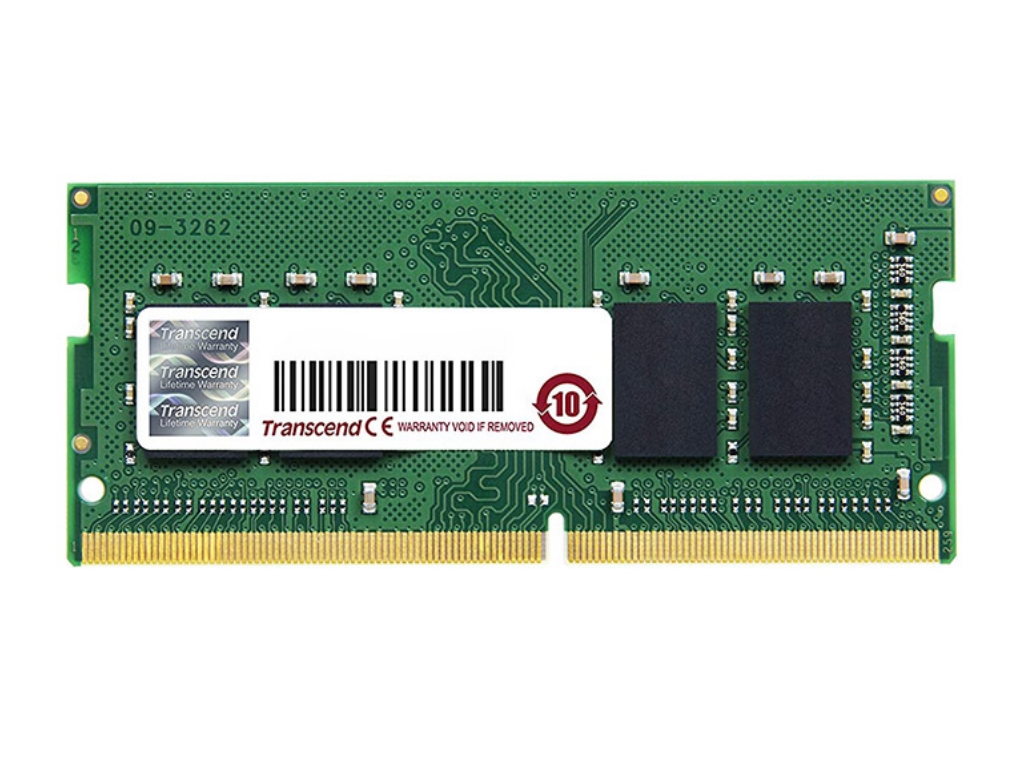 .4GB DDR4- 2666MHz  SODIMM  Transcend PC21300, CL19, 260pin DIMM 1.2V