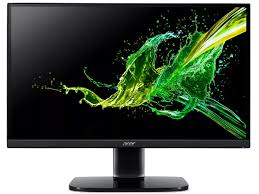 "23.8"" ACER IPS LED KA242Y Glossy Black (1ms, 100M:1, 250cd, 1920x1080,"