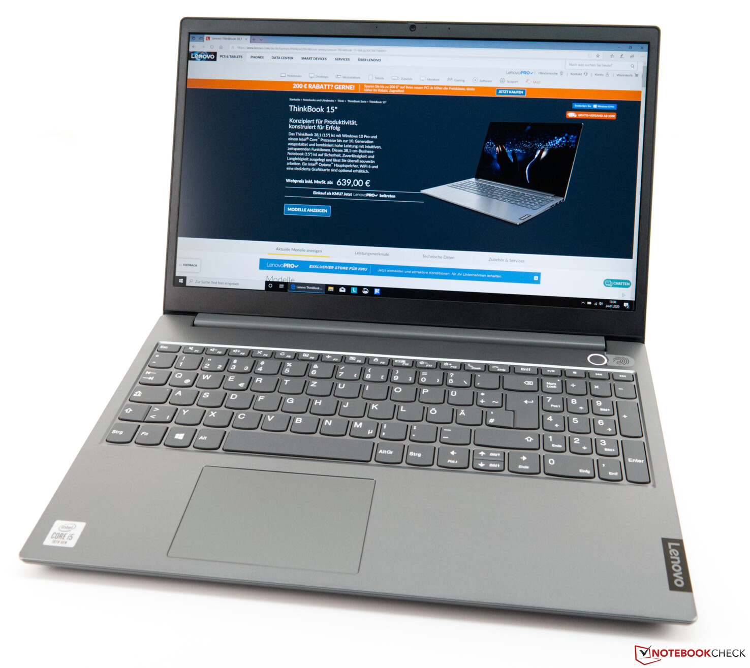 "Lenovo ThinkBook 13s-IML 13.3"" FHD IPS AG 300 nits (Intel Core i5-1021"