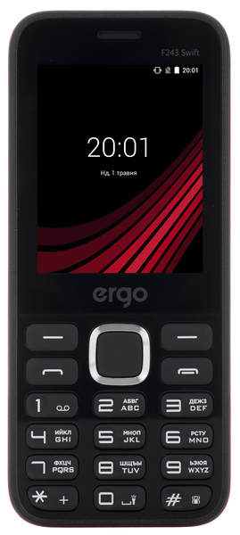 Egro F243 Swift DS Black